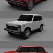 Lada Pack 3d model