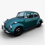 1967 Volkswagen Beetle 3d model
