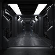 Sci Fiインテリア 3d model