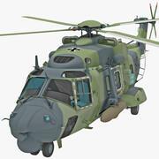 Helikopter wojskowy NHIndustries NH90 3d model