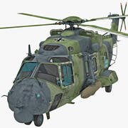 Helikopter wojskowy NHIndustries NH90 2 3d model