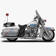 NYPD摩托车 3d model
