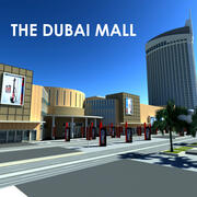 Centrum handlowe Dubai Mall 3d model