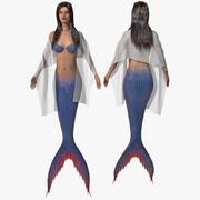 Mermaid 3d model