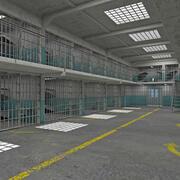 감옥 내부 3d model