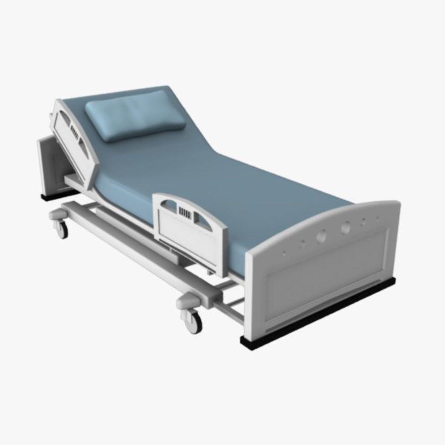 Ziekenhuis bed royalty-free 3d model - Preview no. 1