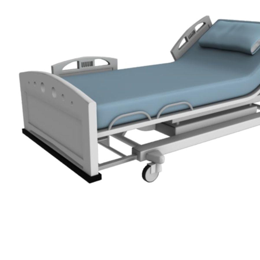 Ziekenhuis bed royalty-free 3d model - Preview no. 17
