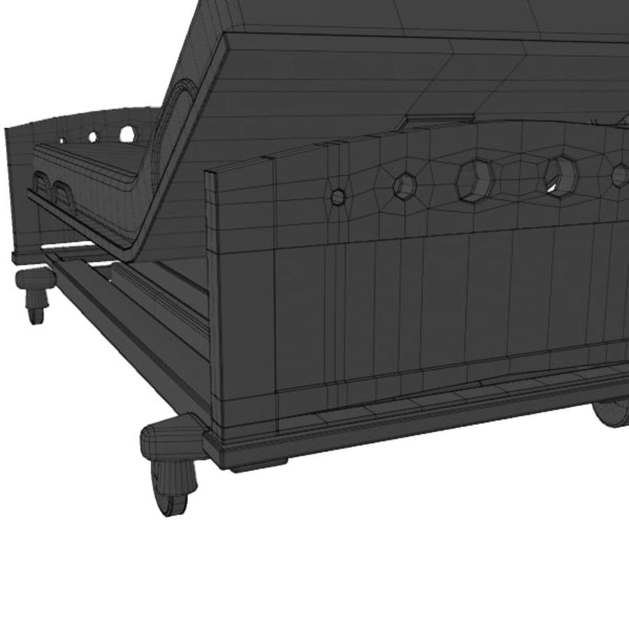 Ziekenhuis bed royalty-free 3d model - Preview no. 15