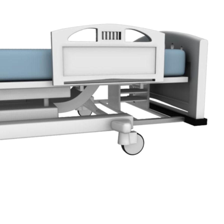 Ziekenhuis bed royalty-free 3d model - Preview no. 7