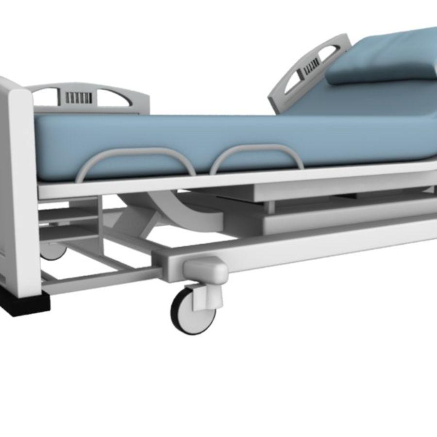 Ziekenhuis bed royalty-free 3d model - Preview no. 18
