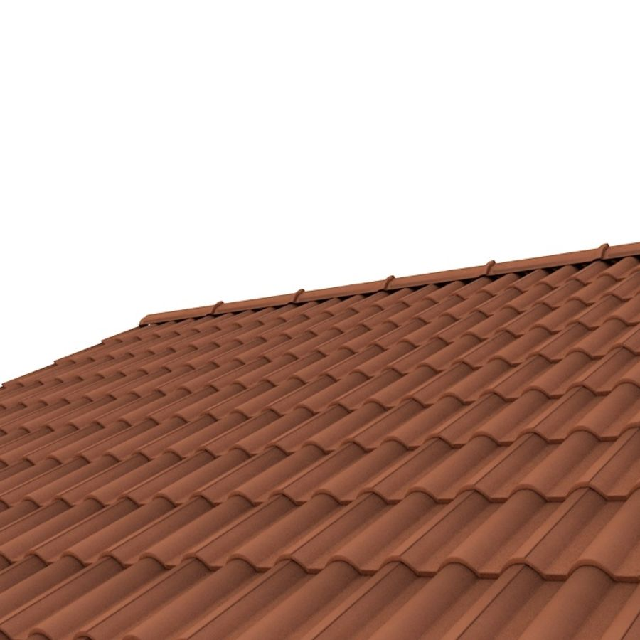 Roof Tile royalty-free 3d model - Preview no. 1