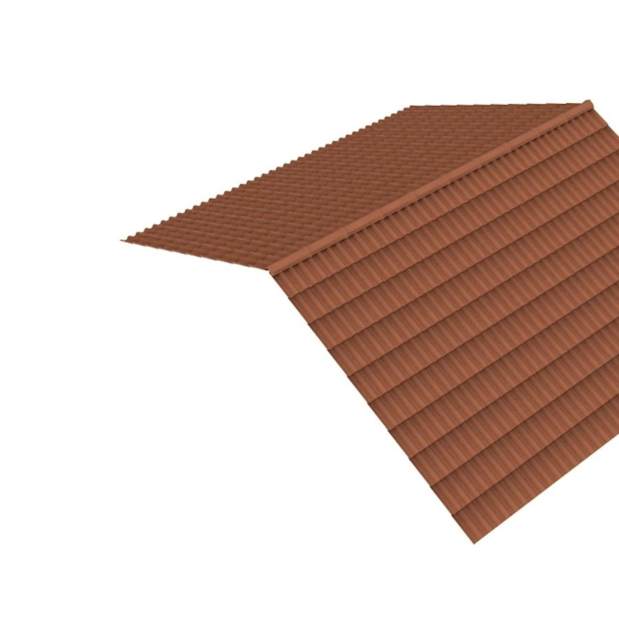 Roof Tile royalty-free 3d model - Preview no. 4