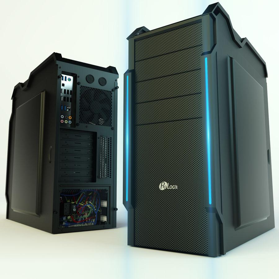 PC case Prologix royalty-free 3d model - Preview no. 1