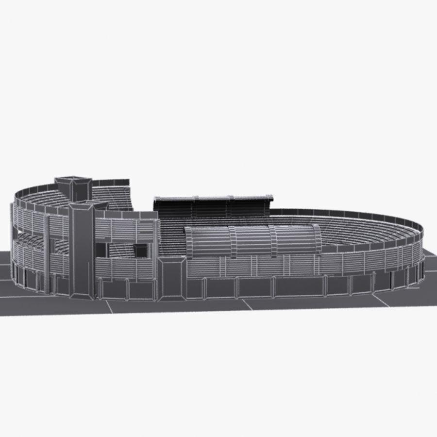 Cartoon Stadium royalty-free 3d model - Preview no. 10