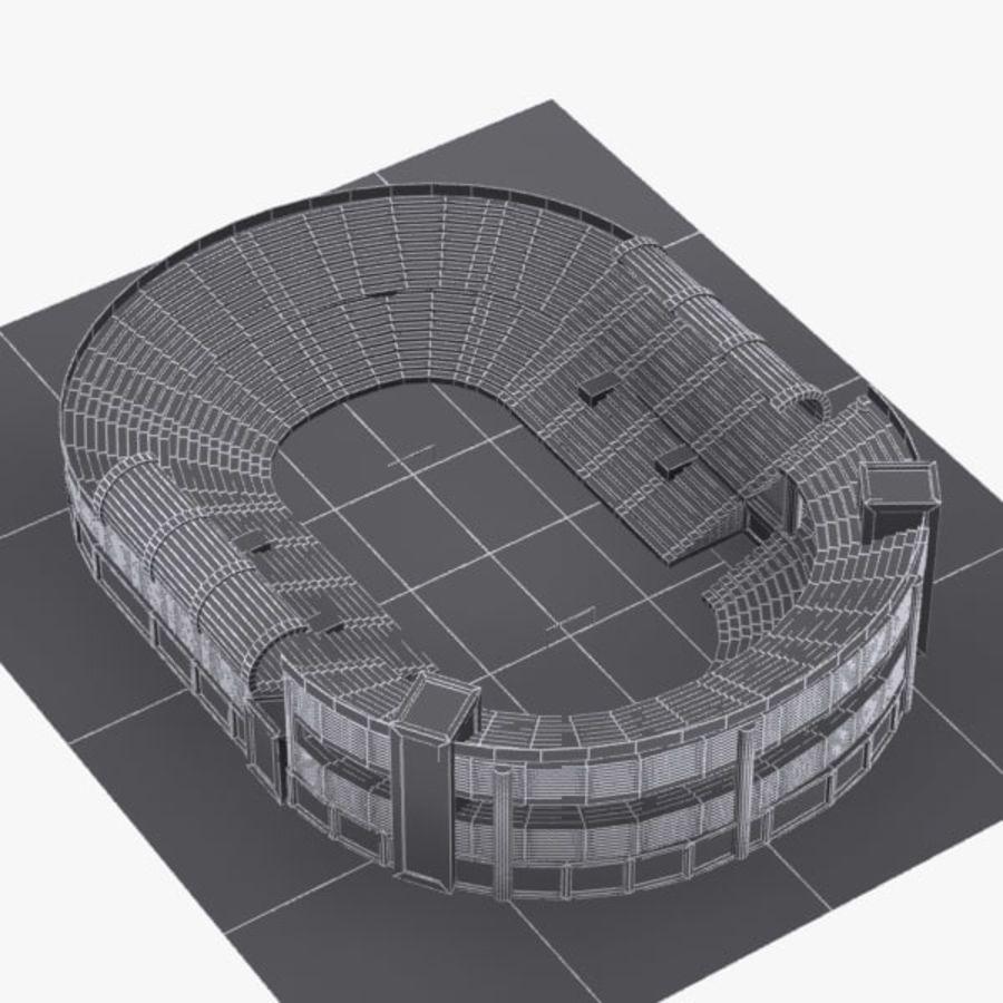 Cartoon Stadium royalty-free 3d model - Preview no. 8