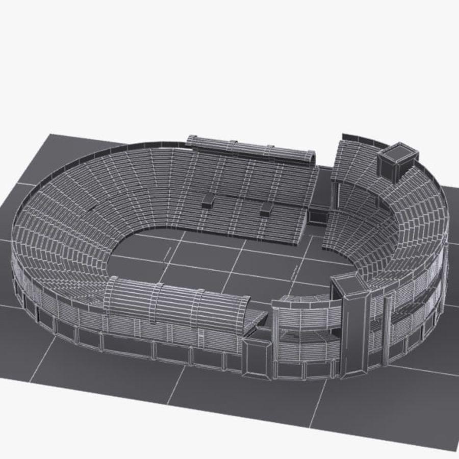 Cartoon Stadium royalty-free 3d model - Preview no. 6