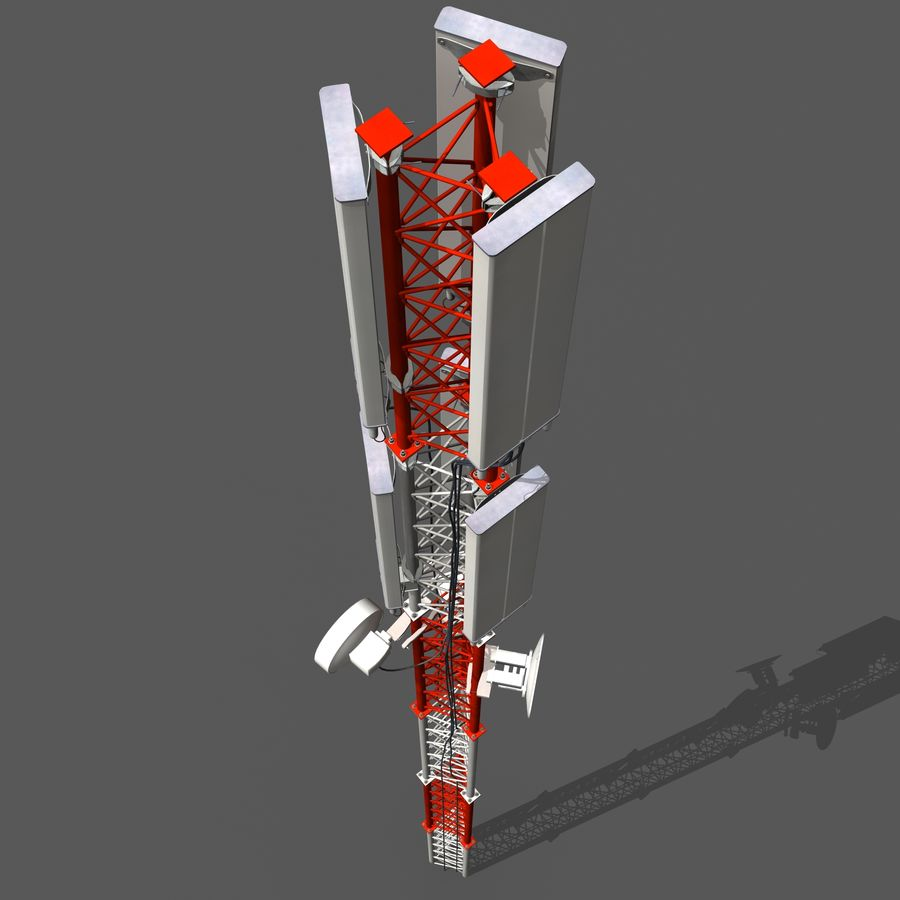 Cell Antenna B royalty-free 3d model - Preview no. 7