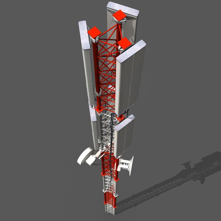 Hücre Anteni B royalty-free 3d model - Preview no. 7