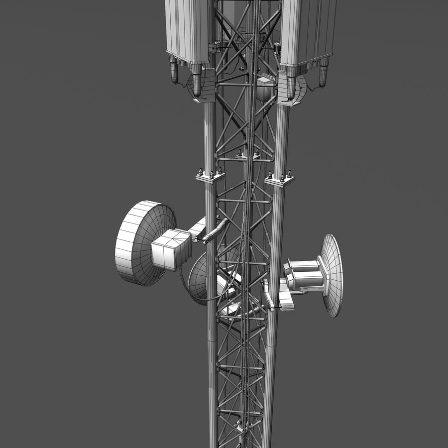 Cell Antenna B royalty-free 3d model - Preview no. 12