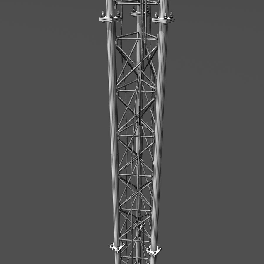 Cell Antenna B royalty-free 3d model - Preview no. 13