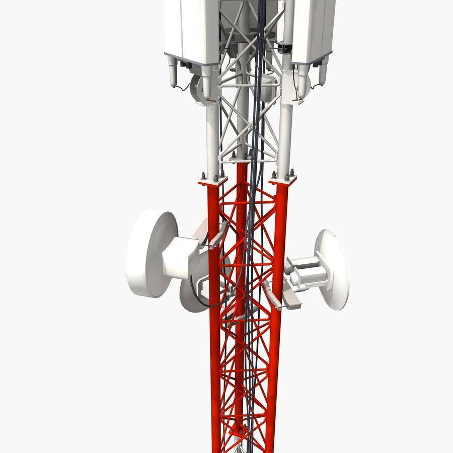 Cell Antenna B royalty-free 3d model - Preview no. 4
