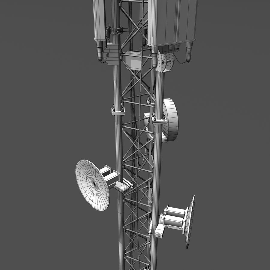 Cell Antenna B royalty-free 3d model - Preview no. 11