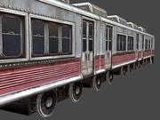 Low Poly Train 01 3d model