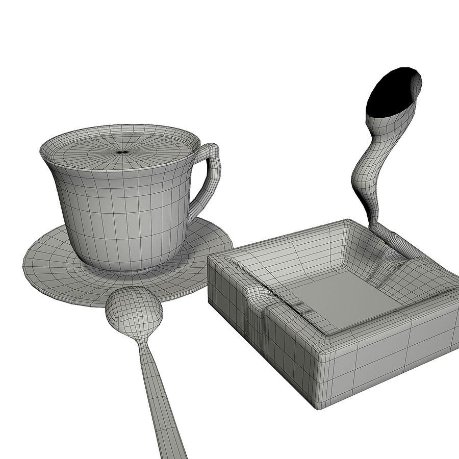 Kahve ve Sigara royalty-free 3d model - Preview no. 12
