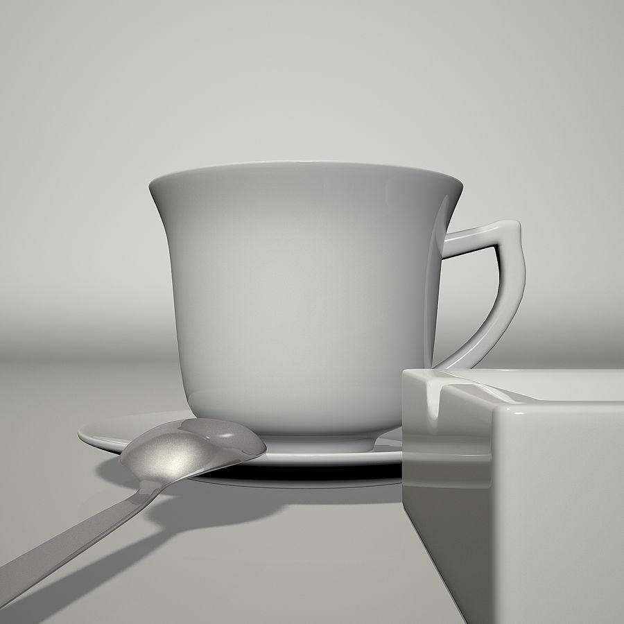 Kahve ve Sigara royalty-free 3d model - Preview no. 5