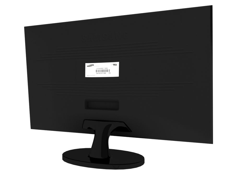 PC-Monitor royalty-free 3d model - Preview no. 5