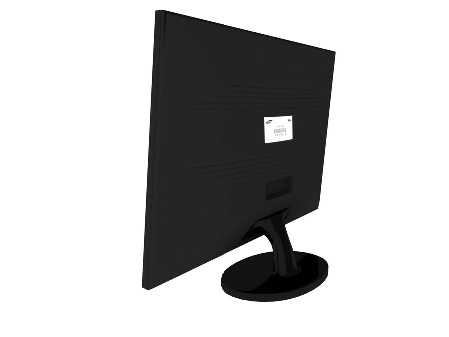 PC-Monitor royalty-free 3d model - Preview no. 4