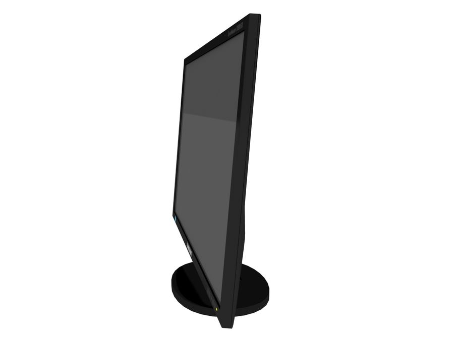 PC-Monitor royalty-free 3d model - Preview no. 3