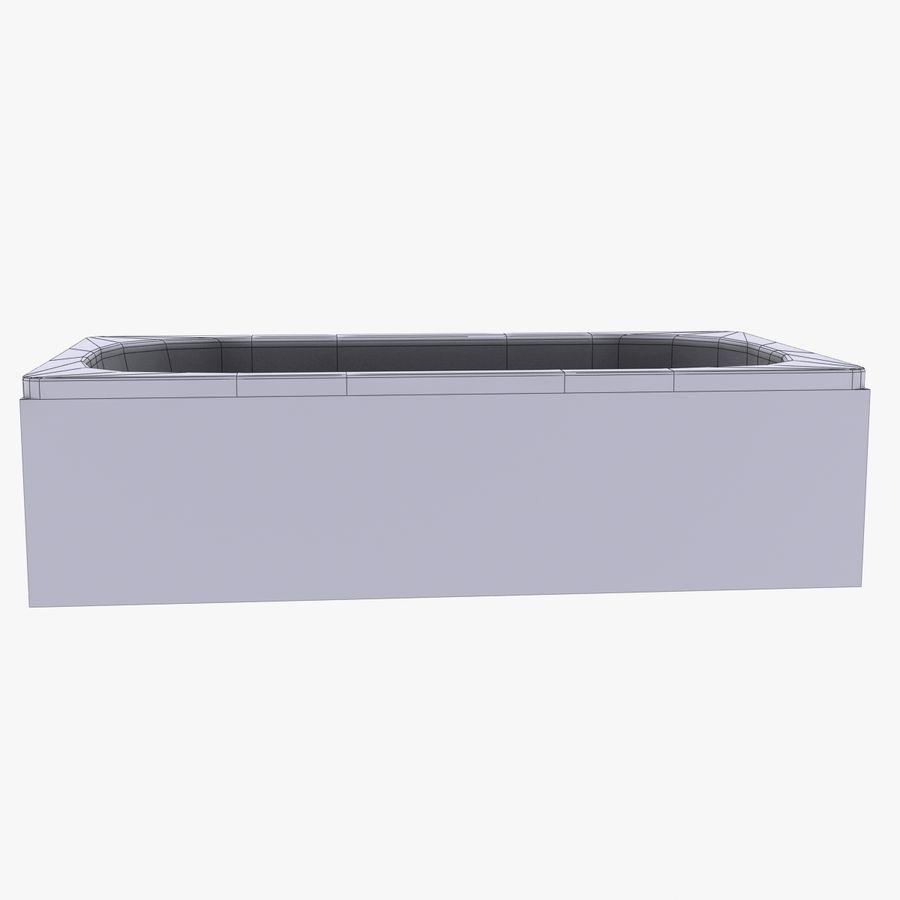 목욕통 royalty-free 3d model - Preview no. 7