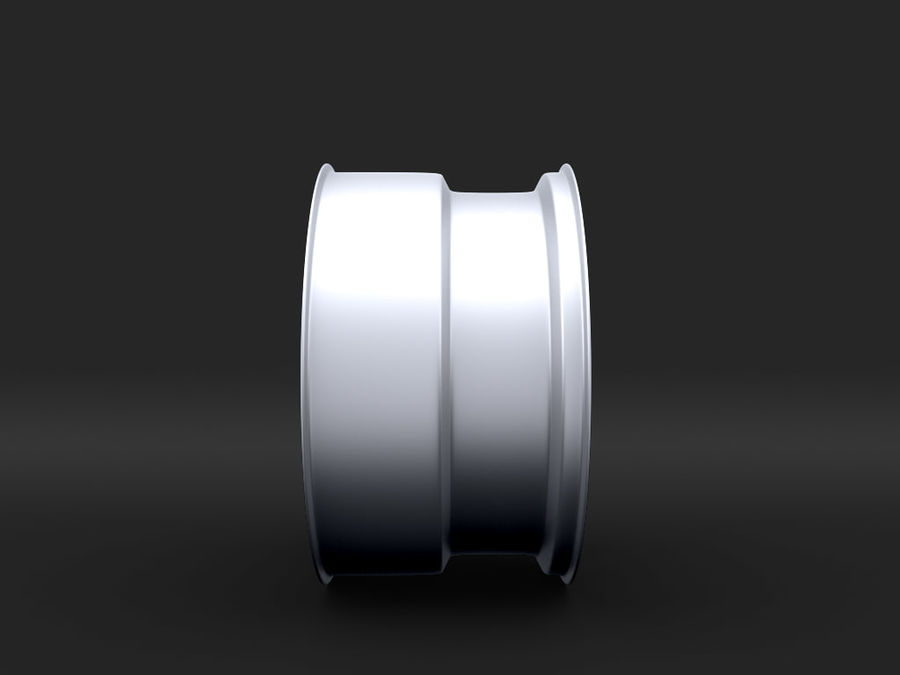 Mercedes Rim R25 17 inches royalty-free 3d model - Preview no. 3