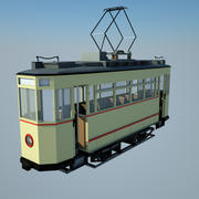 Tram storico 3d model