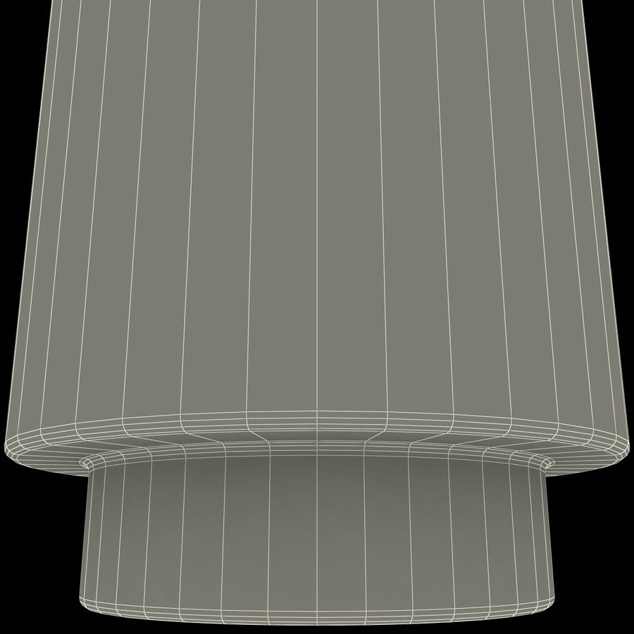 Mainstays Glass Candle Holder royalty-free 3d model - Preview no. 14