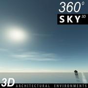 Sky 3D Day 008 3d model