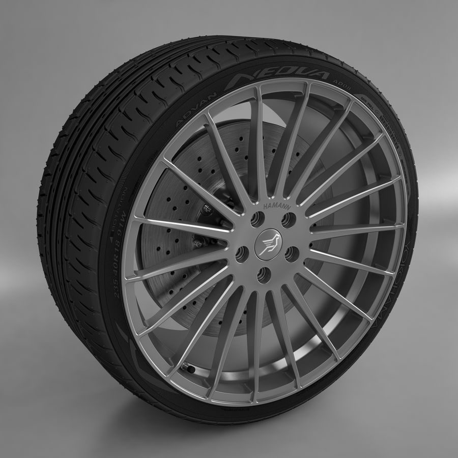 Hamann Aniversary Evo royalty-free 3d model - Preview no. 2