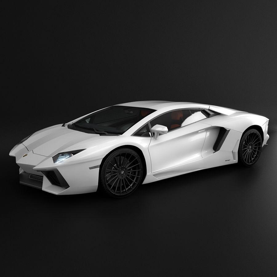 Hamann Aniversary Evo royalty-free 3d model - Preview no. 6
