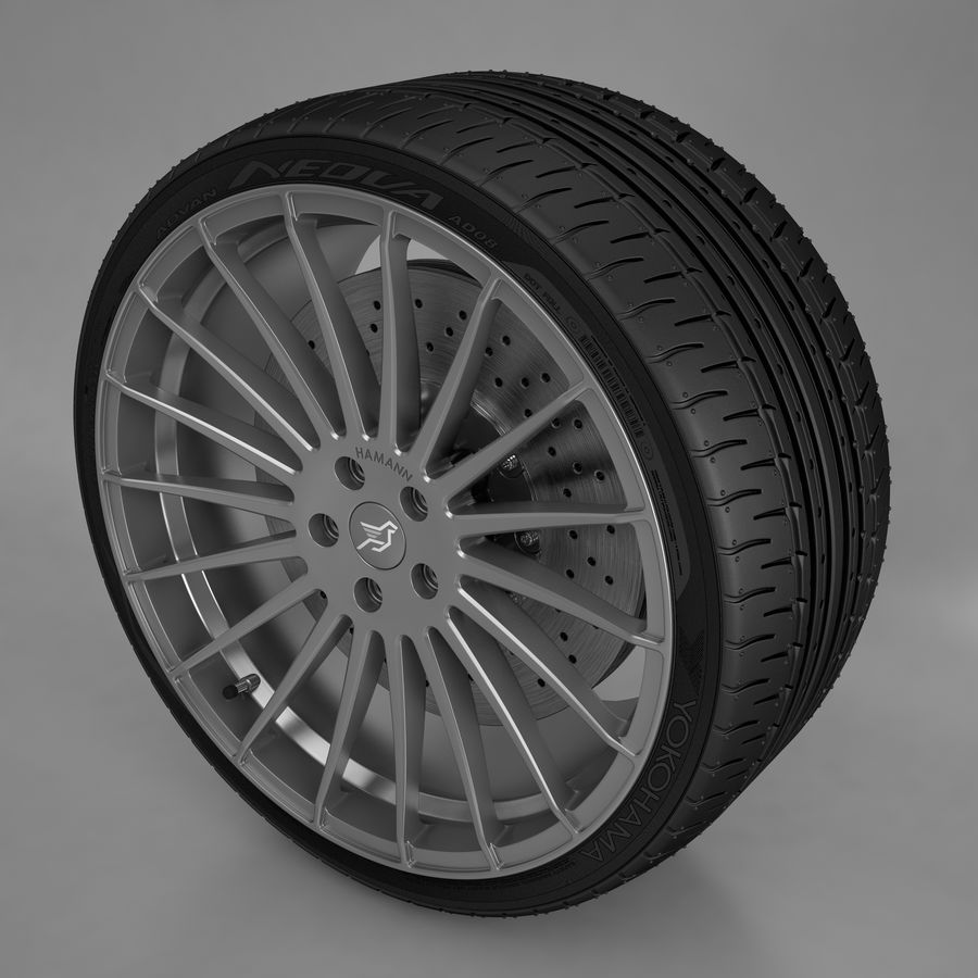 Hamann Aniversary Evo royalty-free 3d model - Preview no. 3
