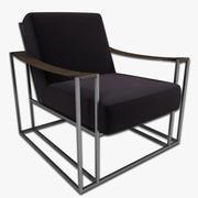 Dekker 라운지 의자 3d model