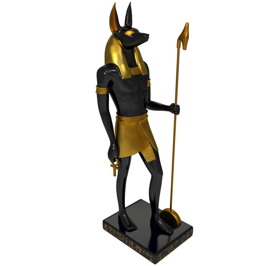 Estatua de anubis royalty-free modelo 3d - Preview no. 1