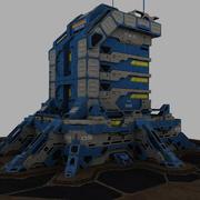 Base Estelar 03 3d model