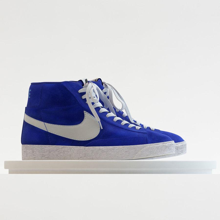 14131e59b56 Nike - Mid Blazer Blue 3D Model  49 - .max .obj .3ds .fbx - Free3D
