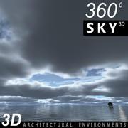 Sky 3D Clouded 012 3d model