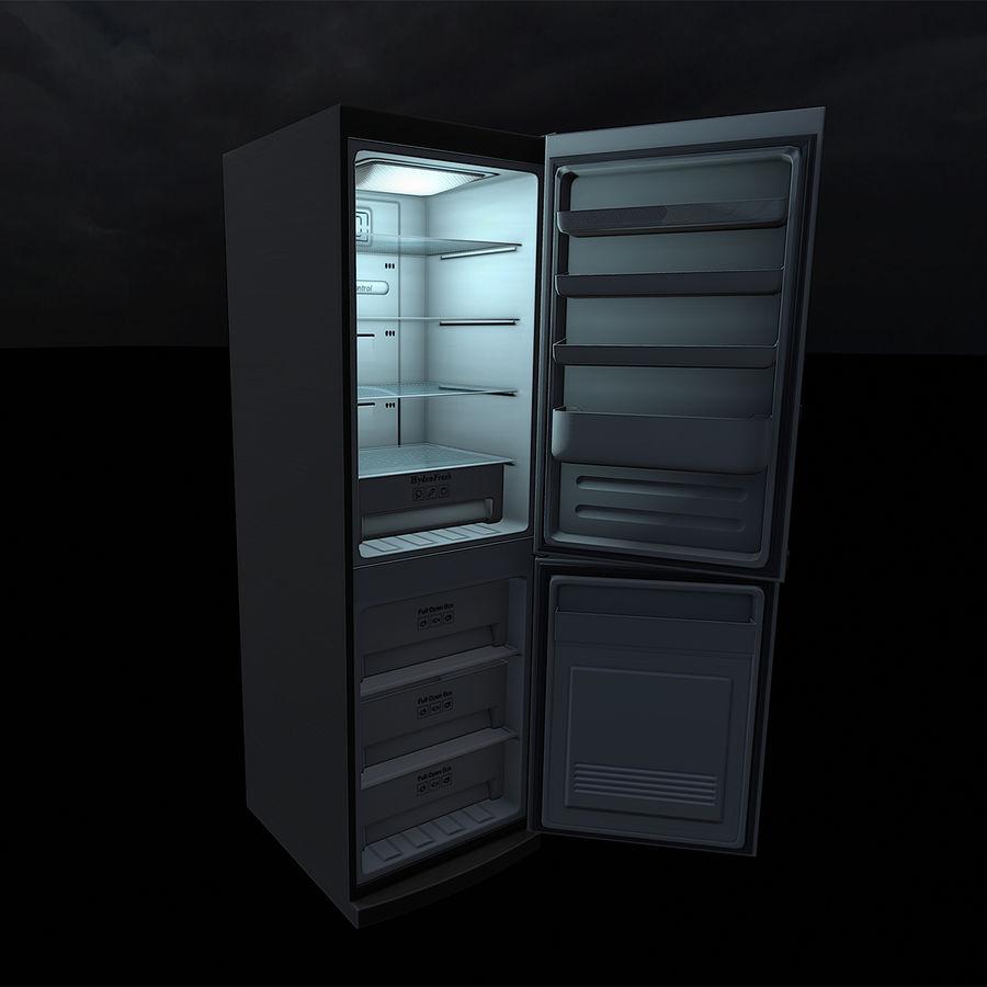 冷蔵庫のゲーム準備 royalty-free 3d model - Preview no. 17