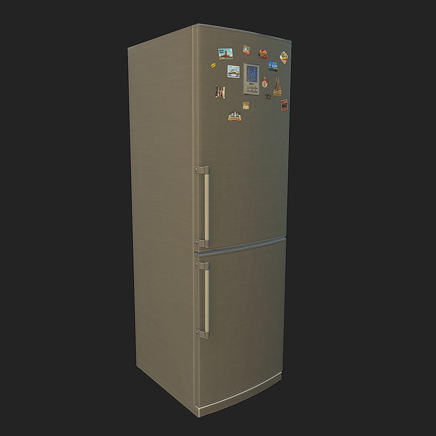 冷蔵庫のゲーム準備 royalty-free 3d model - Preview no. 3