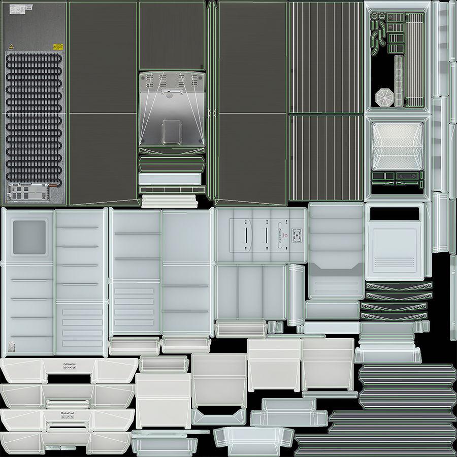 冷蔵庫のゲーム準備 royalty-free 3d model - Preview no. 30