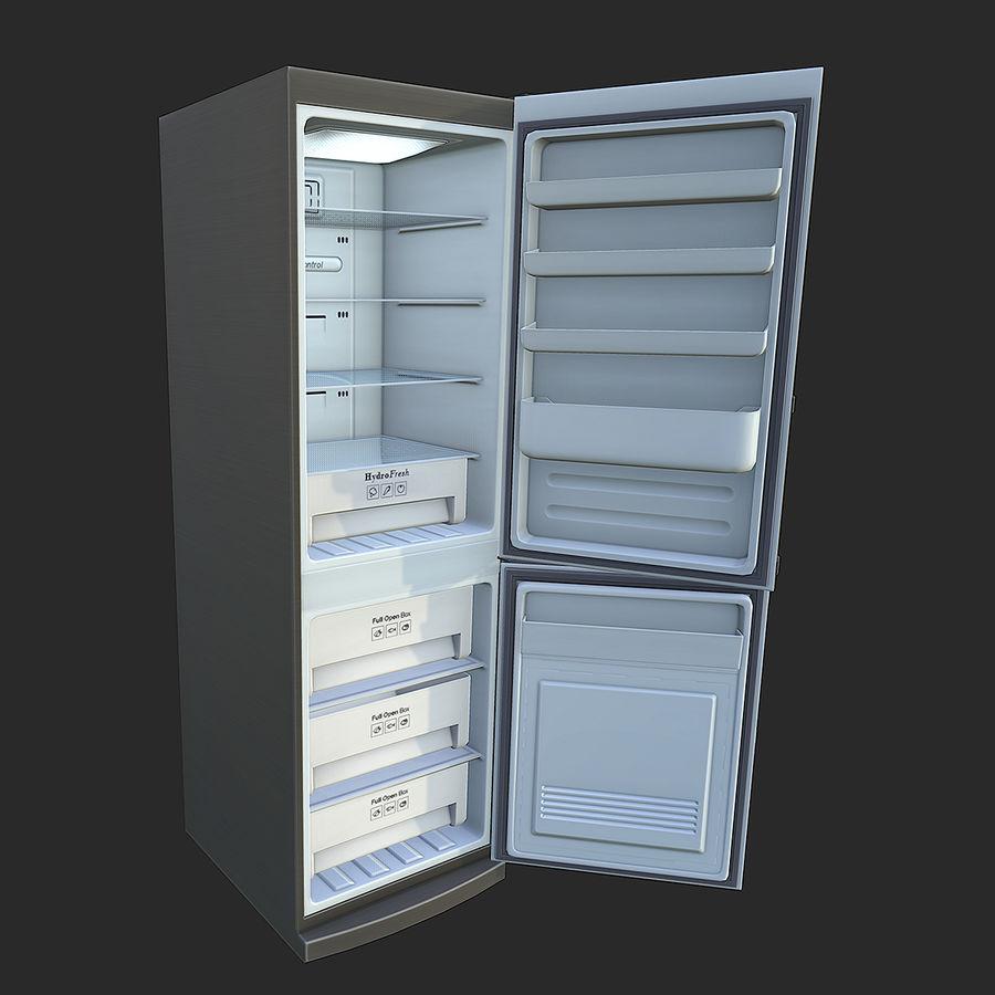 冷蔵庫のゲーム準備 royalty-free 3d model - Preview no. 4