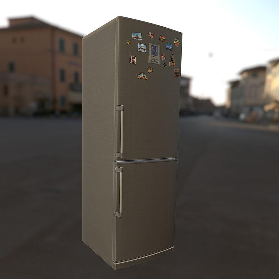 冷蔵庫のゲーム準備 royalty-free 3d model - Preview no. 16